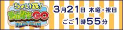 中四国6局ブロックネット番組「ちょい鉄!路面電車でGO」